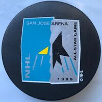 1995 San Jose Arena NHL All Star Game Hockey Puck Trench MFG. Made In Slovakia
