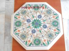 2'x2' Kitchen Room Coffee Dining Corner Malachite Fancy Table Top Mosaic Inlay