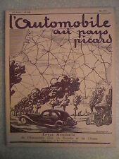 L'AUTOMOBILE au PAYS PICARD n° 308 /mai 1937 Notre rallye de Doullens.