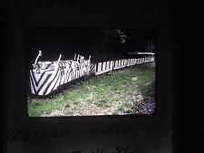 Original slide Train mudlick br ohio caboose Preble co diesel kid ride park tour