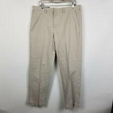 Polo Ralph Lauren Preston Pant Flat Front Beige Mens Chino Pants Size 36x32