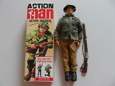 VINTAGE ACTION MAN 1964 SOLDIER IN 40TH ANNIVERSARY BOX.