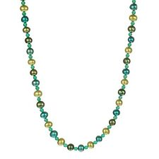 MultiColor Freshwater Pearl Endless Necklace