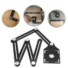 Six-Sided Aluminum Alloy Angle Measuring Tools Universal Locator Positioner New