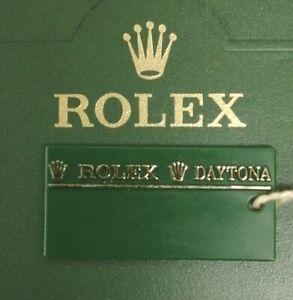 Rolex Daytona Green Swing Tag