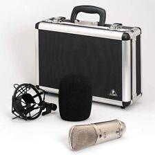 Behringer B-1 Single Diaphragm Studio Condenser Microphone Mic w/Case,Shockmount
