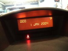 Bordcomputer Display Anzeige PEUGEOT 207 1,4 82790 Km Bj 2008