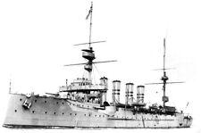 ROYAL NAVY DEVONSHIRE CLASS ARMOURED CRUISER HMS HAMPSHIRE - KITCHENER