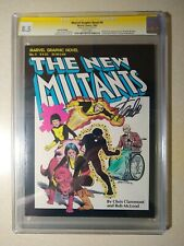 Marvel Graphic Novel #4 CGC 8.5 SS Signed STAN LEE 1st Appearance New Mutants
