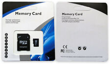 UK 32GB SD TF Memory Card & Adapter for mobile/cell, satnav, pda, tablet etc.