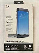 iFrogz Glass Screen Protector + HD Clarity for Apple iPhone 6 Plus, 7 Plus, 8 Pl