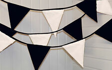 Black and White bunting * 10 mtr * Party / Birthday / Wedding / Christmas