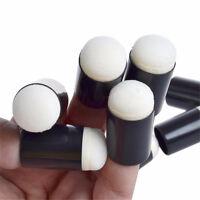50Pcs Finger Sponge Daubers For Paint Ink Pad Craft with PP Bag CSH LDUK
