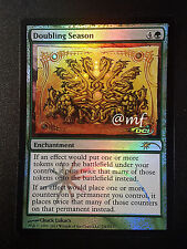 STAGIONE DEL RADDOPPIO - DOUBLING SEASON ENG JUDGE FOIL  - MTG MAGIC [MF]