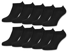 10 | 20 | 30 Paar Sneaker Socken Damen Herren Schwarz Weiß Grau Baumwolle
