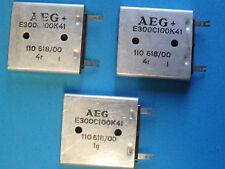 Seleneinweggleichrichter AEG E300 C100K. Vintage, neue, unbenützte Ware