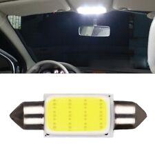2Pcs COB 39mm White Car Interior Dome LED Light Reading Lamp Bulb Universal 3W