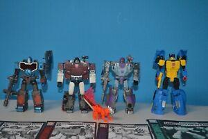 Transformers WFC Trilogy Netflix Figures & Amazon Excusive