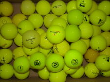 50 MIXED YELLOW COLOURED GOLF BALLS IN MINT/A GRADE CONDITION