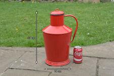 Vintage old enamel metal jug water wine milk can churn - FREE DELIVERY