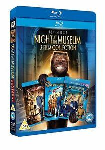 Night at the Museum 1 2 3 Trilogy 3 Movie Collection Ben Stiller RegionB Blu-ray