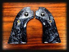 RUGER BISLEY BLACK PEARL GRIPS + Steer Skull Medallions – NEW!!