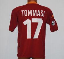 maglia ROMA scudetto 2000 2001 Kappa Tommasi #10 N0 match worn Ina Assitalia XL