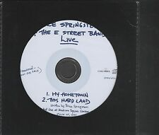 BRUCE SPRINGSTEEN Live (2000 Australian 2-track promotional CD single