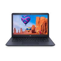 """NEW HP 14"""" FHD AMD A4 2.4GHz 4GB RAM 32GB eMMC Webcam Chrome OS 180-degree Hinge"""