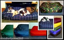 "Zippy Large Waterproof Beanbag Dog Bed Bean Bag Sofa Mattress 40"" X 30"" Washable"