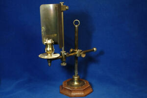 Microscope Lamp in Olden Style