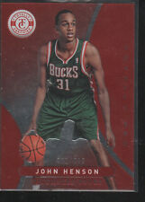 JOHN HENSON 2012-13 PANINI TOTALLY CERTIFIED RED ROOKIE #261  /499