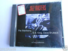 cd jazz blues soul jazz masters 100 ans de jazz pat metheny b.b. king cd's cds v