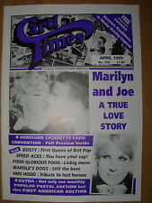 CARD TIMES MAGAZINE FORMERLY CIGARETTE CARD MONTHLY No 110 APRIL 1999