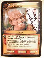 Autographed  2E  Foil  Sovak, Treasure Hunter  (Max Grodenchik)