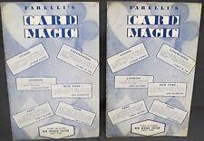 Farelli's Card Magic Vols. 1&2 by Farelli, Victor