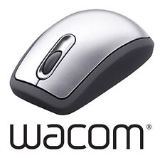Waccom Graphire4 Wireless Battery Free Mouse Silver Grey For Graphics Tablets