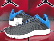 NIKE FREE INNEVA WOVEN NEWSPRINT GREY-BLUE HERO-SAIL SZ 9.5 [579916-004] SP LAB