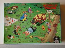 ACHILLE TALON - PUZZLE 500 PIECES - LE PIQUE NIQUE - ROMBALDI - 1980 -