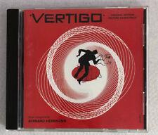 Vertigo [Original Soundtrack] by Bernard Herrmann CD Alfred Hitchcock