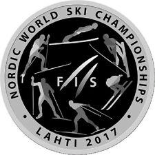 Belarus / Weißrussland - 1 Ruble Nordic World Ski Championships 2017.Lahti
