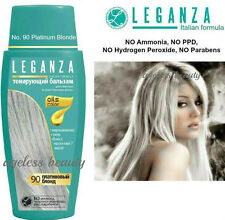 PLATINUM BLONDE Hair Colouring Conditioner NATURAL OILS COLORANT DYE NO AMMONIA
