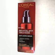 L'Oreal Paris RevitaLift Triple Power Concentrated Serum Treatment 1.0 oz