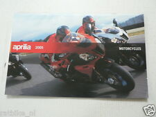 D259 BROCHURE APRILIA 2005 ALL MODELS BIKES AND SCOOTERS DUTCH 28 PAGES
