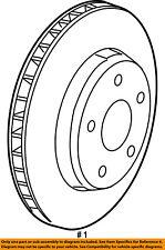 Jeep CHRYSLER OEM 15-17 Renegade Front Brake-Disc Rotor 68327786AA