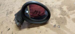 2008 MINI COOPER WING MIRROR DRIVER SIDE ELECTRIC  BLACK