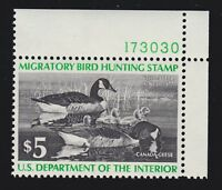 "US RW43 $5 Duck Hunting Mint w/PSE Cert ""95"" XF-Superb OG NH SMQ $60 (001)"