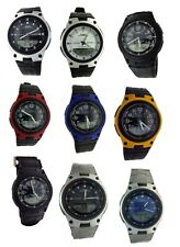 New Casio AW80 Men's Ana-Digi Databank 10Year Battery Varieties Watch 50M WR