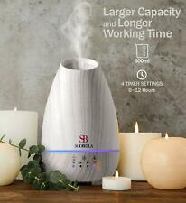 Essential Oil Diffuser 500ml 7 LED Ultrasonic Aromatherapy Cool Mist Humidifier