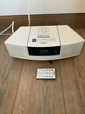 New listing Bose Wave Awrc-1P Stereo Cd Player and Radio with Remote - White